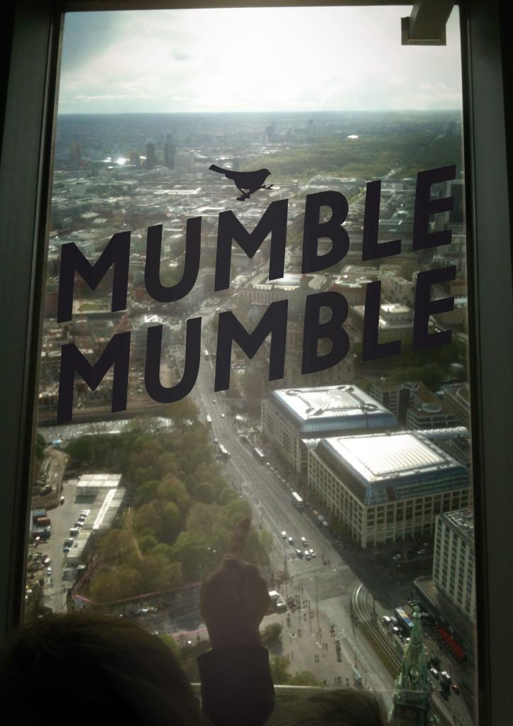MUMBLE-4-PRIMER DIA EN BERLIN